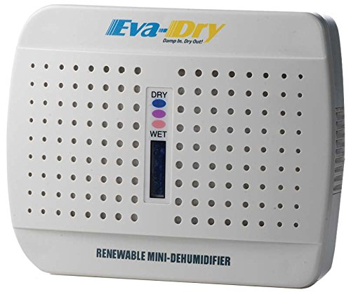 New and Improved Eva-dry E-333 Renewable Mini Dehumidifier Momentum SM eva dry