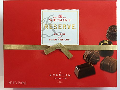 Whitman's Reserve Premium Collection - Milk, Dark, & Artisan
