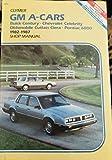 GM A-Cars: Buick Century, Chevrolet Celebrity, Oldsmobile Cutlass Ciera, Pontiac 6000 1982-1987 : Shop Manual