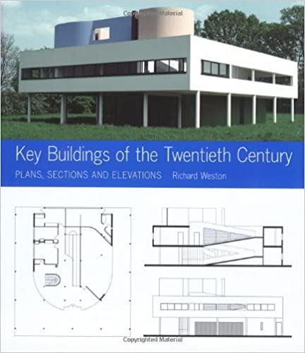 Key Buildings Of The Twentieth Century Plans Sections And