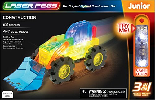 Laser Pegs Construction 3In1