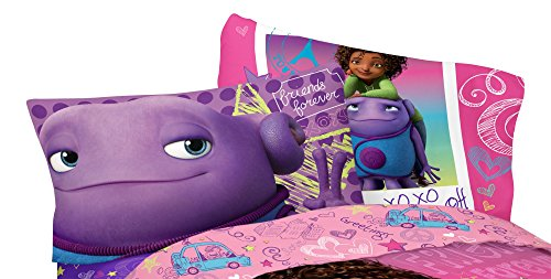 "Dreamworks Home BFF Forever Microfiber Pillowcase, 20"" x 30"""