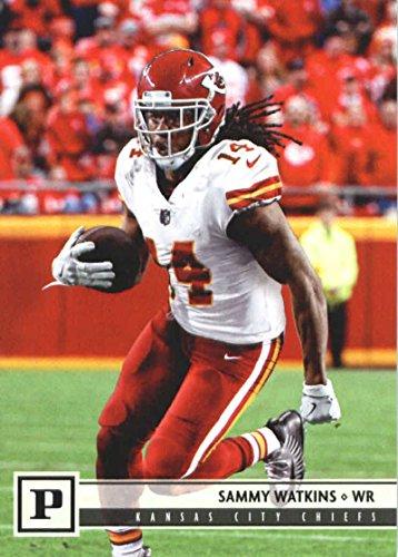2018 Panini NFL Football #148 Sammy Watkins Kansas City Chiefs Official Trading Card - Nfl Bowman Chrome Trading Cards