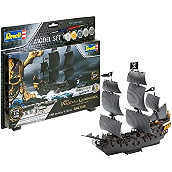 Amazon.com: Revell Quick construir pirata Ghost Ship Modelo ...