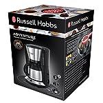 Russell-Hobbs-Adventure-Macchina-del-Caffe-1100-W-10-Tazze-Acciaio