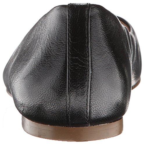 W Scholl's Vixen Dr Black Flats C Women Leather aOdwqxtw