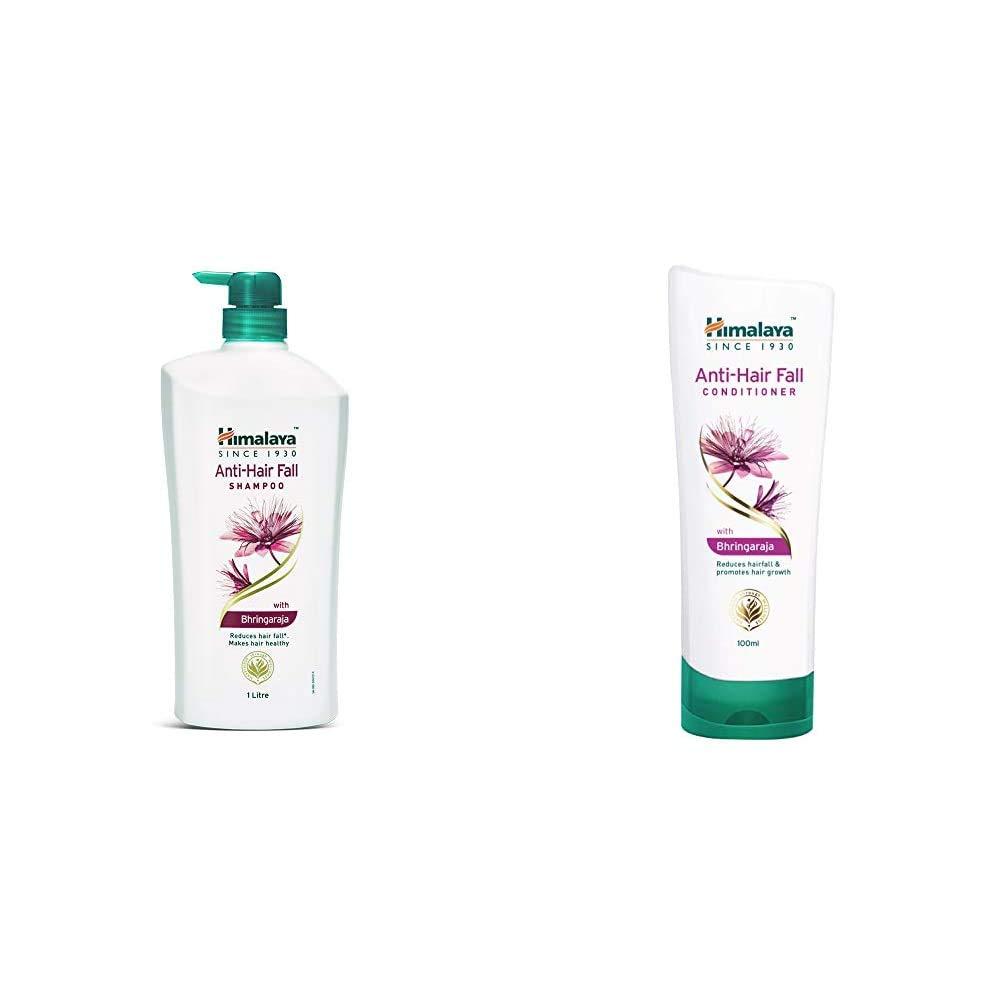 [Apply coupon] Himalaya Anti Hair Fall Shampoo with Bringaraja, 1000 ml and Himalaya Anti-Hair Fall Conditioner, 100ml