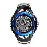 eYotto Kid's Children Boys Girls Multi-Function Analog Digital Date Alarm Wrist Quartz Watches