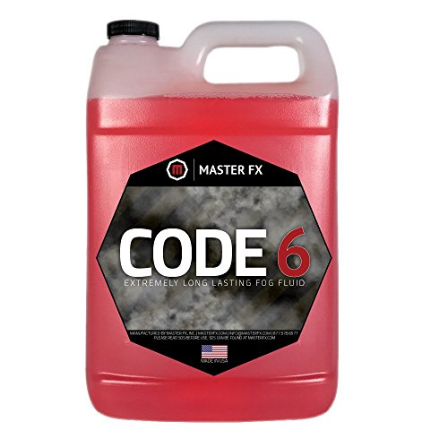 Code 6 Fog - Extremely Long Lasting Fog Fluid - 1 Gallon