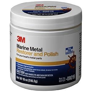 3M Marine Metal Restorer and Polish (18-Ounce Paste)