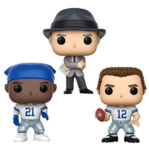 Funko Pop! Football: Dallas Cowboys Legends Collectible Vinyl Figures, 3.75