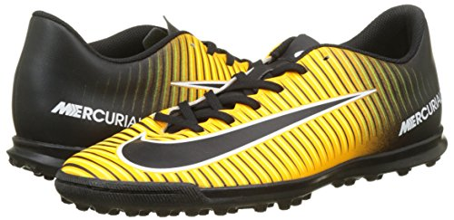 Nike Mercurial Vortex Iii Tf Botas De Fútbol Para Hombre 831971 Soccer Cleats Láser Naranja Negro Volt 801