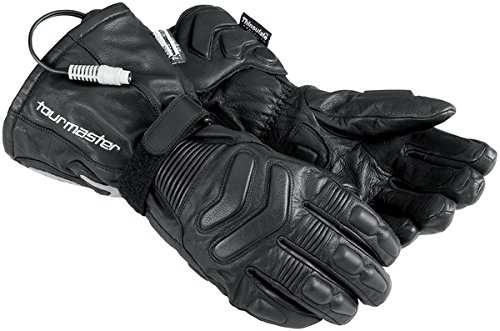 Tourmaster Synergy 2.0 Black Electrically Heated Leather Gloves - ()