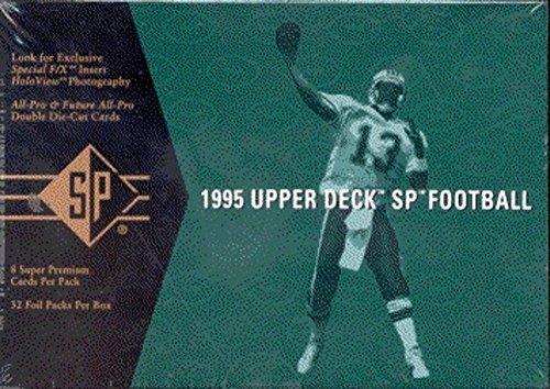 1995 Upper Deck SP NFL Football Sports Trading Cards Hobby (Upper Deck Nfl Box)