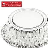 Juvale Aluminum Foil Pie Pans - 100-Piece Round