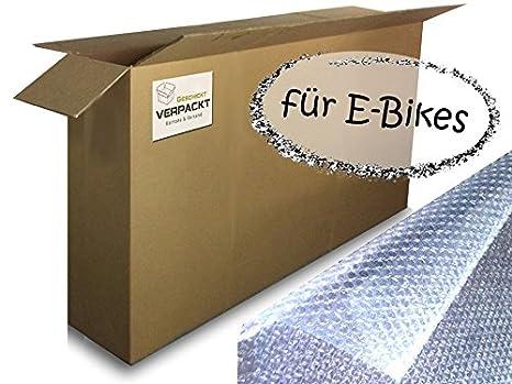 Cajas de Cartón para motos de S/Cartón Para Bicicleta transporte en avión con accesorios del paquete: Amazon.es: Oficina y papelería