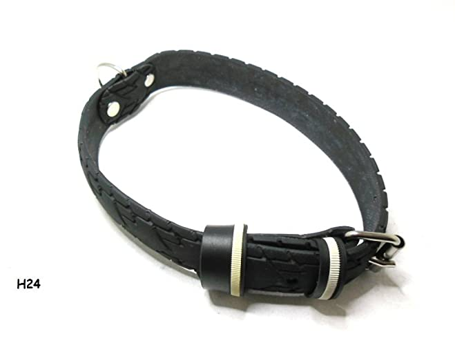 Handmade Hundehalsband Aus Fahrradreifen Upcycling Halsumfang Von
