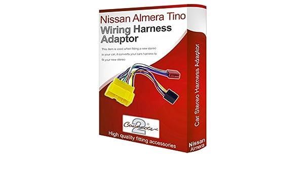Nissan Almera Ti radio stereo wiring harness adapter ... on nissan brakes, nissan fuel pump, nissan fuse, nissan radiator, nissan headlights, nissan lights, nissan timing belt, nissan transformer, nissan speedometer, nissan starter, nissan oil filter, nissan throttle body, nissan water pump, nissan body harness, nissan alternator, nissan ecu, nissan engine, nissan timing chain, nissan radio harness, nissan exhaust,