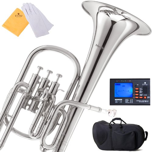 mendini-mah-n-nickel-plated-e-flat-alto-horn-with-stainless-steel-pistons
