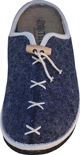 Lã Calça Jeans 37 Toblach Senhoras Chinelos Verdadeira De OqwxEX8