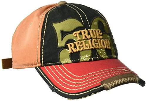 True Religion Men's Bandana Logo Baseball Cap