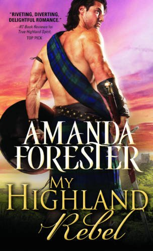 book cover of My Highland Rebel