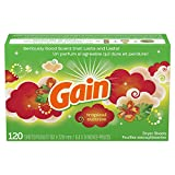 Gain Dryer Sheets, Tropical Sunrise, 120 Count