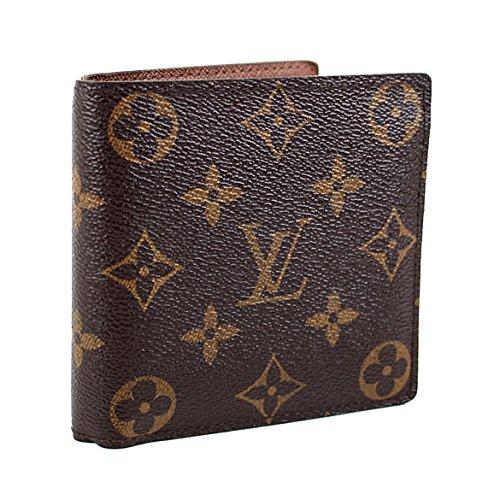 (ルイヴィトン) LOUIS VUITTON 二つ折り財布 ポルトフォイユ マルコ モノグラム M61665 h366 [中古] B07FKYZG5J