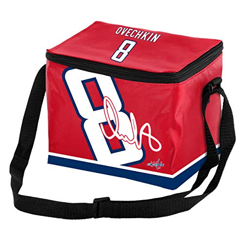 FOCO NHL Player Zippered Lunch Bag-Washington Capitals-Alex Ovechkin #8