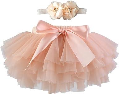 AIYIYOO - Falda tutú para bebés y niñas (0-3T): Amazon.es: Ropa y ...