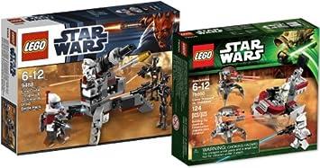 LEGO Star Wars 9488 Elite Clone Trooper & Commando Droid Battle ...