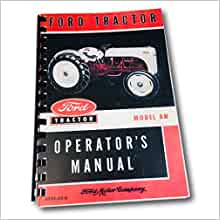 ford  tractor owners manual reprint ford