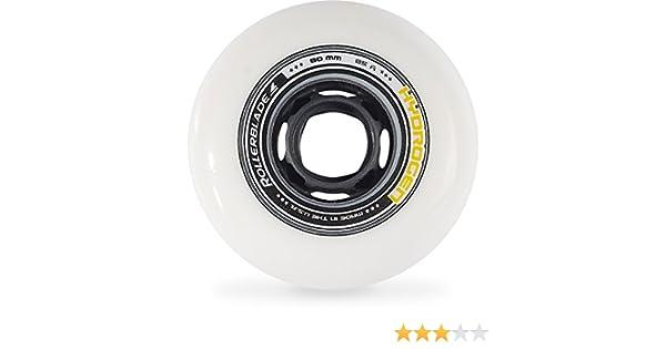 Rollerblade - Ruedas para patines hydrogen 80/85a, color blanco: Amazon.es: Deportes y aire libre