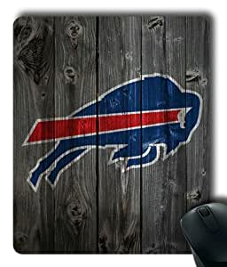Buffalo Bills on Wood Rectangle Mouse Pad by eeMuse