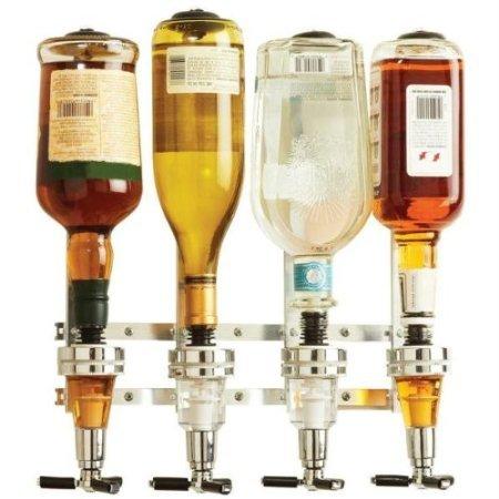 Wyndham House 4 Bottle Liquor Dispenser