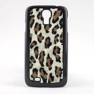 Case Fun Brown Leopard Print Snap-on Hard Back Case Cover for Samsung Galaxy S4 Mini (i9190)