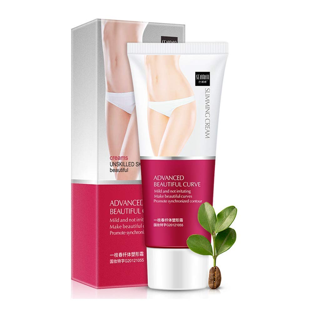 Caffeine Burn Cream,Slimming & Firming Cream,Body Slimming Gel Fat Burning Cream for Women and Men,Perfect for Shaping Waist Abdomen and Buttocks,Natural fat massages burning cream