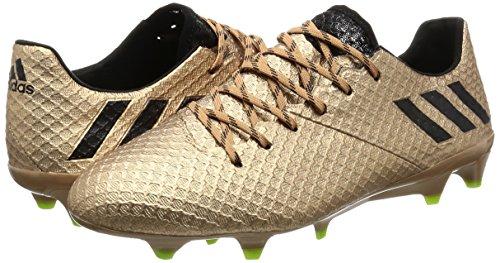 adidas Messi 16.1 Fg, pour les Chaussures de Formation de Football Homme, Marron (Marrone Bronzo/Cobmet/Negbas/Versol),  391/3