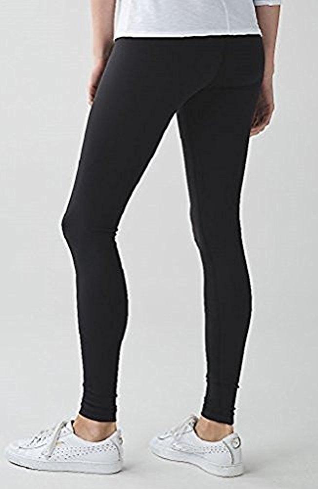 Lululemon Wunder Under Pant III Full On Luon Yoga Pants (Black, 4) by Lululemon (Image #5)
