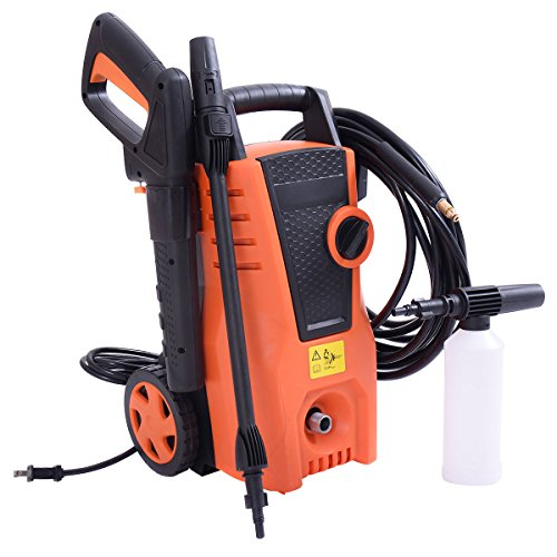 1400PSI Electric High Pressure Washer 2000W 1.6GPM Sprayer Cleaner Machine by Tamsun