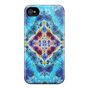 Scratch Resistant Hard Phone Cases For Apple Iphone 4/4s (wVb5106TUWq) Support Personal Customs Colorful Grateful Dead Skin