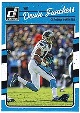 Amazon.com  2016 Panini Donruss Football  44 Devin Funchess Carolina ... e12f19cd9