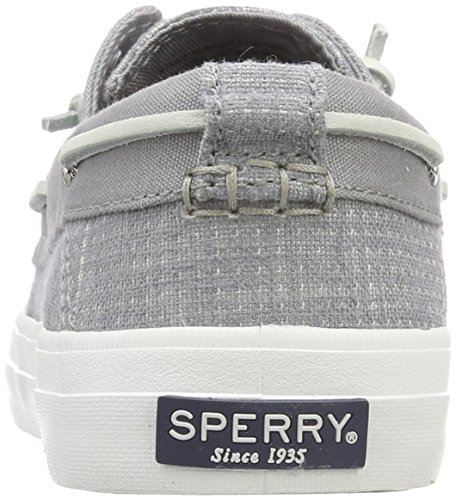 Resort Chaussures Crest Tone Two Grey Top Grey Femme Sider Bateau Gris Sperry 80 t0pq6p