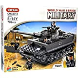 ミリタリーブロック WWII 第二次世界大戦 ドイツ軍 タイガー Tiger 戦車 #OM33013