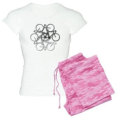 879f26d76e Amazon.com  CafePress-Bicycle circle Women s Light Pajamas-Womens ...
