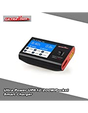 Mainstayae UP610 200W Pocket Smart Charger for RC Drone Quadcopter Car 1–6S Lipo Battery 1–16S NiCd/NiMH Battery
