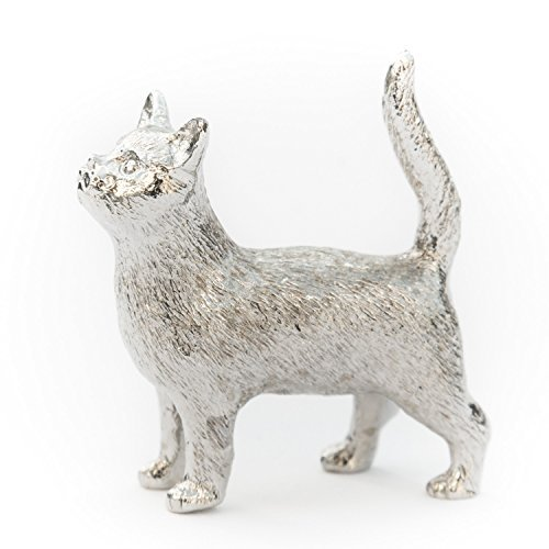 DOG ARTS JP Cat (Standing) Made in UK Artistic Style Animal Figurine Collection