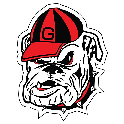 Georgia Bulldogs Magnet BULLDOG HEAD MAGNET 6