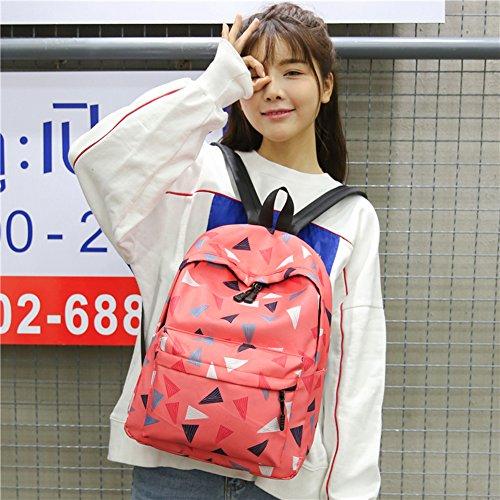 Demiawaking - Bolso mochila  para mujer 04 Rosa