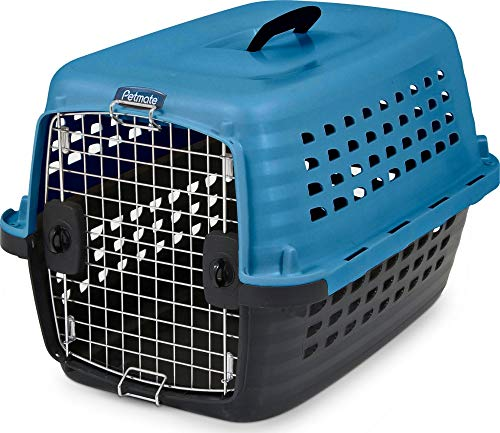 Pet Carrier Doskocil - Petmate Compass Fashion Kennel Cat and Dog Kennel 4 Vibrant Colors 2 Sizes